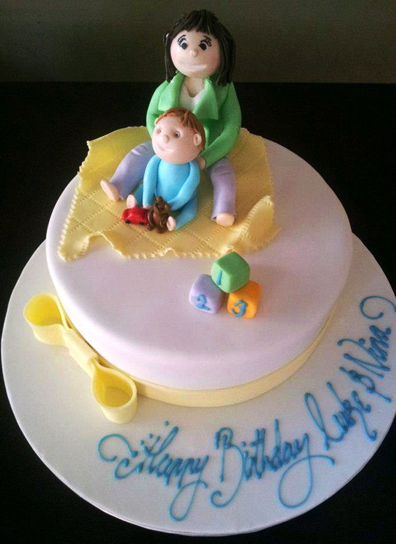Pin Mother And Son Love Is A Peace Cake Cake on Pinterest